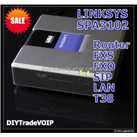 New Linksys SPA-3102 SPA3102-NA SIP FXO FXS PSTN UNLOCKED