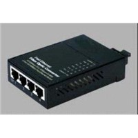 10/100M Fiber Media Converter(2 UTP ports)