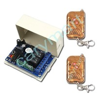2 Channel DC12V RF Remote Control Switch Memory Function