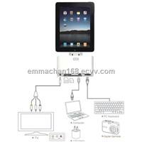 5 in 1 camera connection kit for ipad/ipad 2 (apple/ipad accessory)