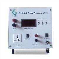 60W portable solar power system