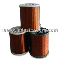 Aluminum enameled wire with high durability