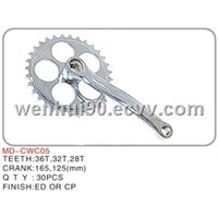 Bicycle Chainwheel Cranks