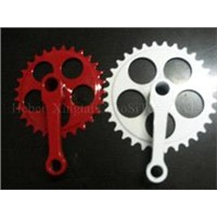 CHAOSITE Bicycle Chainwheel & Crank