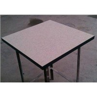 Calcium sulphate raised flooring system