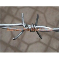 PVC Coated / Electro Galvanized Barbed Iron Wire