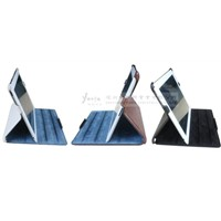Classic Leather Case with Four Slots for iPad
