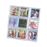 Digital Clock with Multi Photo Frame
