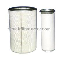 Engineering Equipment Air Filter Komatsu heavy duty air filter KOMATSU PC200 PC300