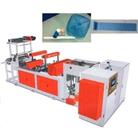 Full Auto Two-Line Garbage Bag Folding Machine/ Vest Bag on Roll Making Machine