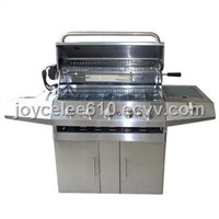 Full Stainless Steel 5-Burner Gas Grill with Infrared Burner