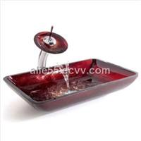High Quality Bathroom Sinks Glass Basin/Color Glass Basin (J-B12)
