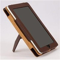 Leather cover for ipad 2 VL-02