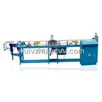 Magnetic strip inserting machine
