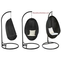 Outdoor Furniture Rattan Hammock / Swing Chair (BZ-W002)