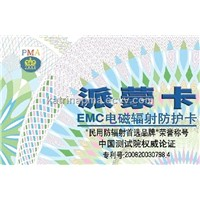 PMA radiation protection EMC Card