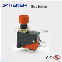 Panel Mount Micro Push Button Switch/Renew Switch