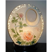 Peony Porcelain Table Lamp