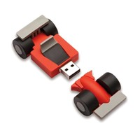 Race car usb flash drive