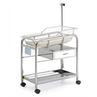 Stainless Steel Baby Bassinet (AC7346)