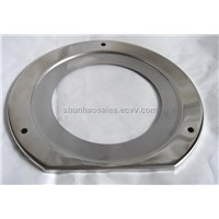 Stianless Steel flange for pressure gauges and thermometers