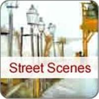 Street Scenes Oil Painting