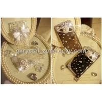 Swarovski crystal case for iphone 4G Mobile case