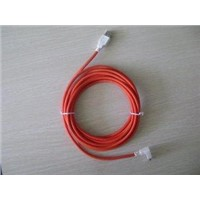 USB Am to Right/Left Angle USB Mini 5pin Cable;orange