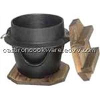 Cast Iron Cookware-Dutch Oven
