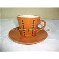 ceramic cup&saucer