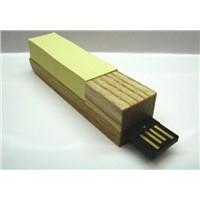 cuty post its wooden usb memory stick