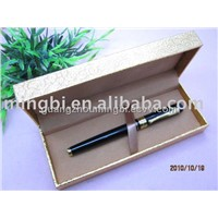 elegant black blue metal gift pen