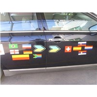 flexible magnetic outdoor sticker for car