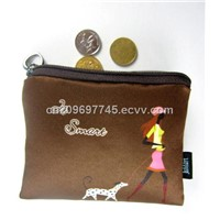 photo printed change purse