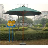 Wood Garden Umbrella