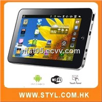 "wm8650 7""android 2.2 netbook with android 2.2 ,wifi,camera"