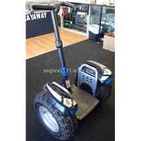 Black Segway i2 Polo + Extra Battery