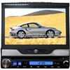 7 inch touch pannal/Ipod/GPS navigation/ One din car dvd player