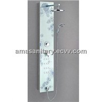 AMA-6607 Tempered glass shower panel/bathroom shower panel