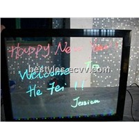 LED writing sign screens