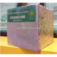 Sandwich wall panel for exterior / interior wall (6mm face panel) - A