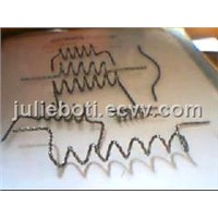 Tungsten twisted  wire    tungsten filament