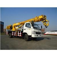10 ton truck crane