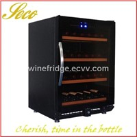 150liter Graceful Wine Cooler Refrigerator with Arc Handle