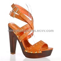 2011 the most fashionable lady sandal CL8421-2