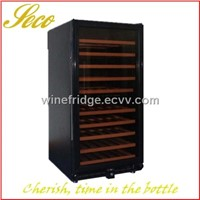 288liter wine cooler fridge with circle cooling system