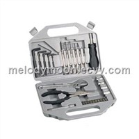 30PC Hand Tool Set Screwdriver Wrench Pilers Socket (A5)