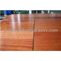 3mm Top-layer 3-strip Jatoba Engineered Wood Flooring