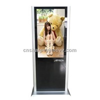 46 Inch Vertical Integrated LCD Ad Player