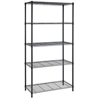 5-Tier Wire Shelving Power Coating